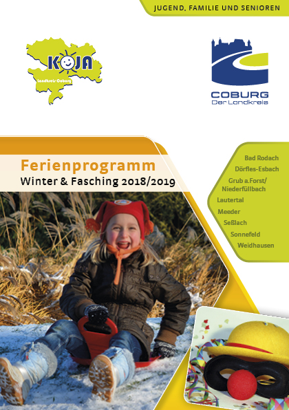 Ferienprogramm Winter/Fasching 2018/2019